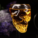 Crystal Skull Party Wine Glass - 75ml/2.5oz