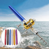 Portable Pen Fishing Rod