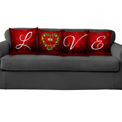 Christmas LOVE Pillow Covers