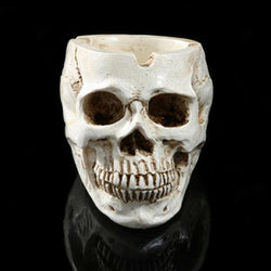 Skull Head Resin Ashtray