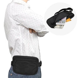 Slim Travel Belt Bag