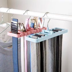 Storage Rack Tie & Belt Organizer