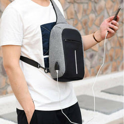 USB Device Travel Shoulder Bag
