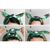 FREE Shipping - Vintage Print Wired Headband