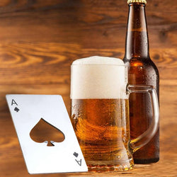 Wallet-size Ace Card Bottle Opener