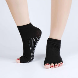 Anti-Slip Half Toe Yoga Socks