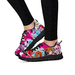 Skulls & Dragon Women's Sneakers