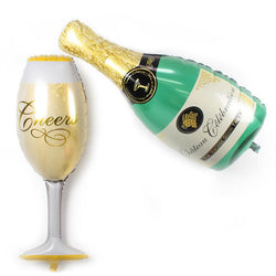 FREE Shipping - Wine & Champagne Party Balloon Set