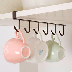 Kitchen & Multi-Purpose Iron Hook Organizer