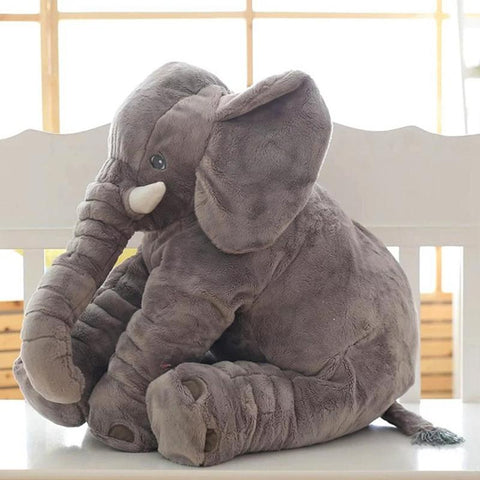 Large Plush Elephant Toy & Pillow