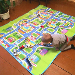 Road & Traffic Play Mat