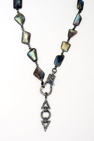 Art Deco Labradorite Necklace