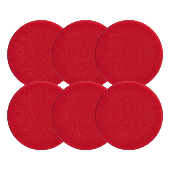 Sonax Polishing Pad Red 80 (Hard) - 6 pack