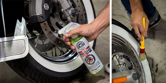 Chemical Guy Apex Wheel Cleaner Spray On Wipe Off Wheel and Tire Cleaner for Motorcycles - 16oz