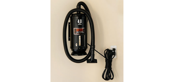 Metro Vac 'N Blo Compact Car Vacuum/Blower with Wall Mount