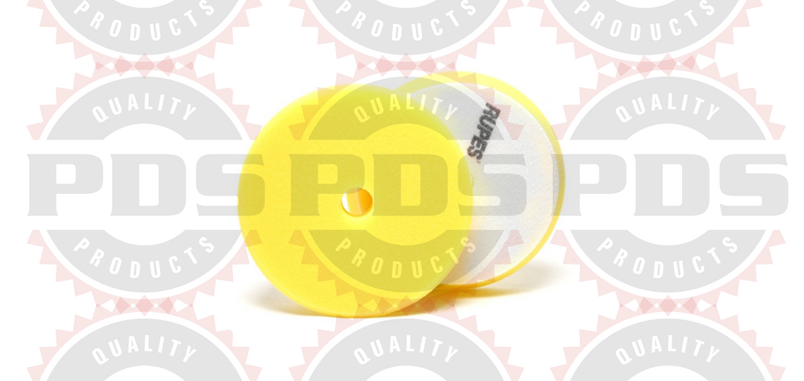 Rupes Foam Polishing Pad, Yellow 150MM (LHR15) - 2 Pack