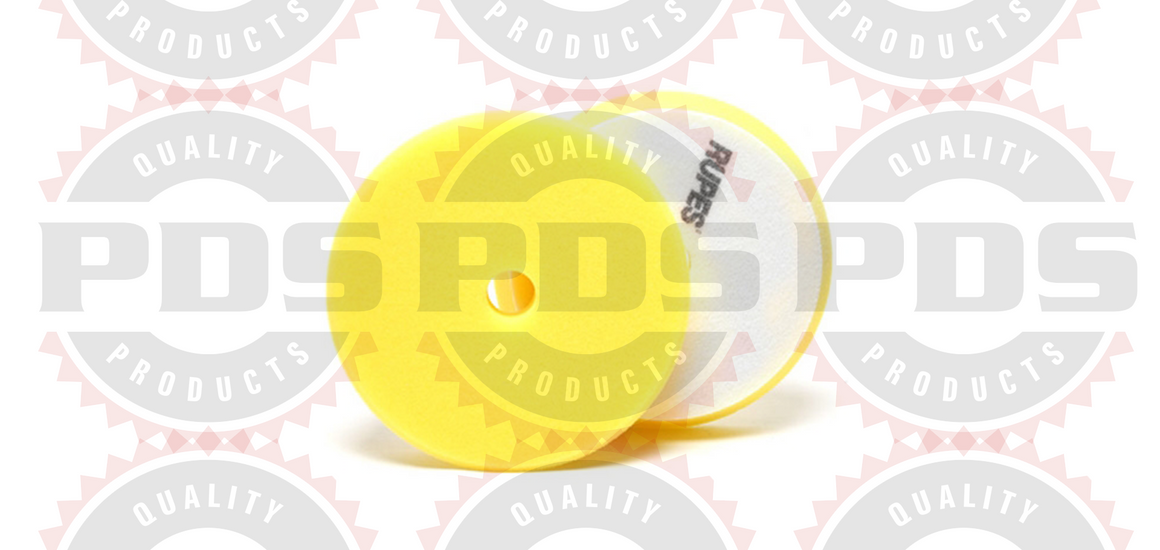 Rupes Foam Polishing Pad, Yellow 180 MM (LHR21) - 2 Pack