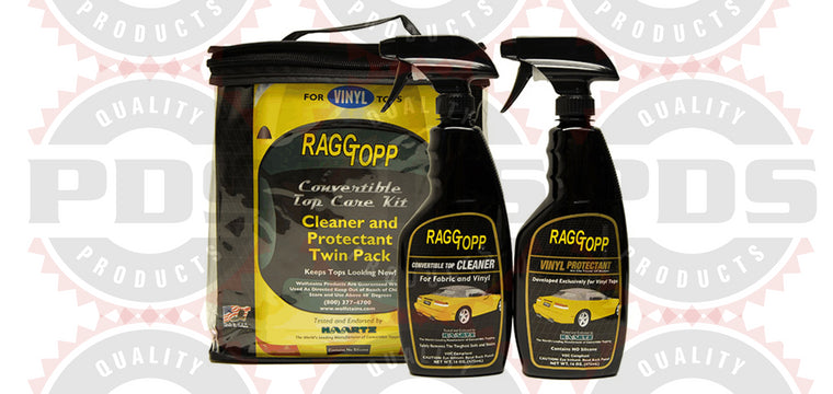 RaggTopp Vinyl Convertible Top Care Kit