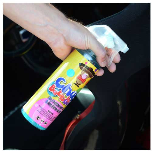 Chemical Guys Chuy Bubble Gum Scent Premium Air Freshener & Odor Eliminator - 4oz