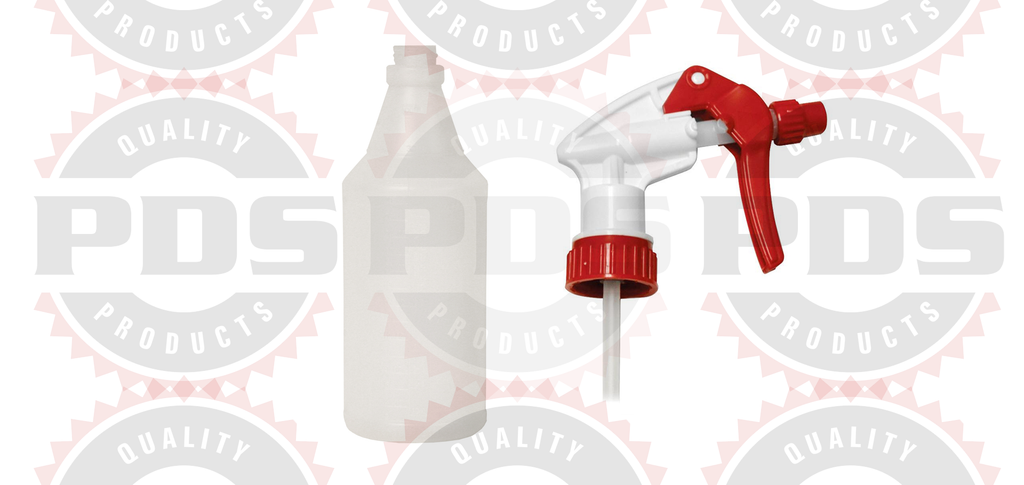 PDS - Spray Bottle With Trigger 32oz