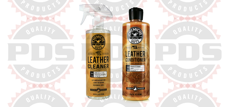 Chemical Guys Leather Cleaner + Conditioner Kit