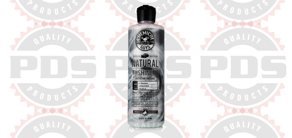 Chemical Guys Natural Shine Interior & Exterior Satin Shine Dressing - 16oz