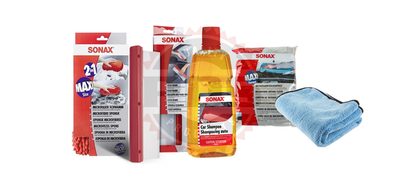 Sonax Complete Car Wash Kit