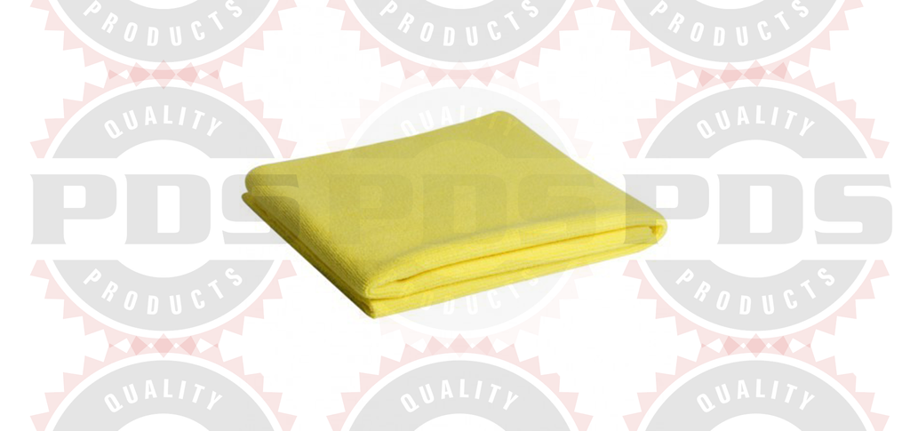 "Microfiber Madness Yellow Fellow Polish Towel - 16"" x 24"""