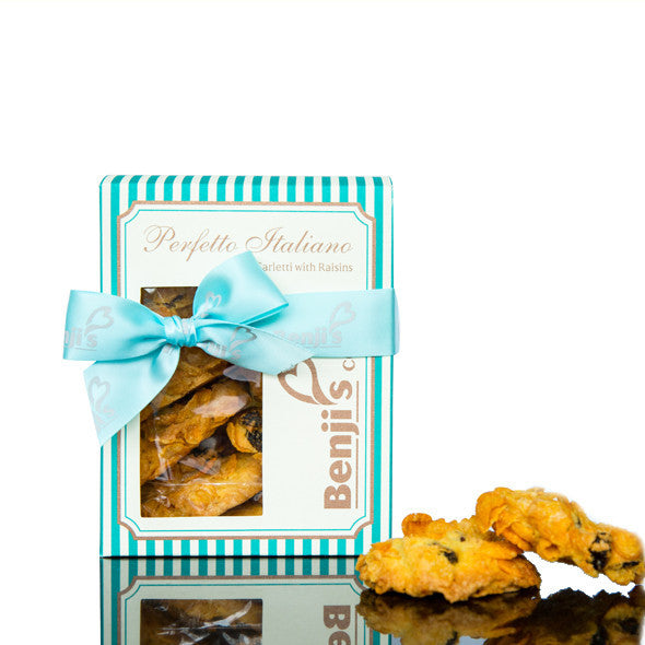 Benji's Cookies - Carletti with Raisins
