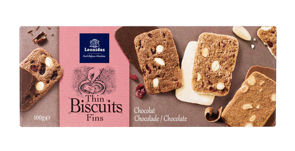 Leonidas Assorted Chocolate Cookies 100g