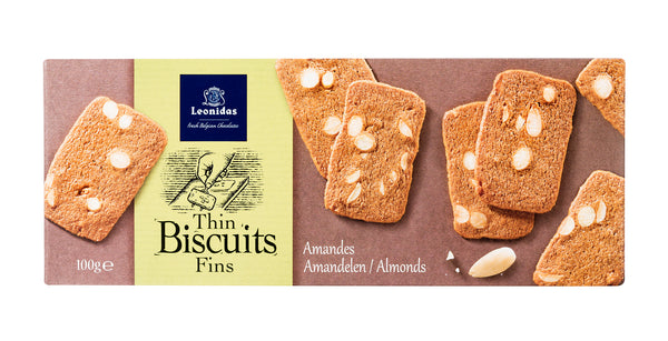 Leonidas Almonds Cookies 100g