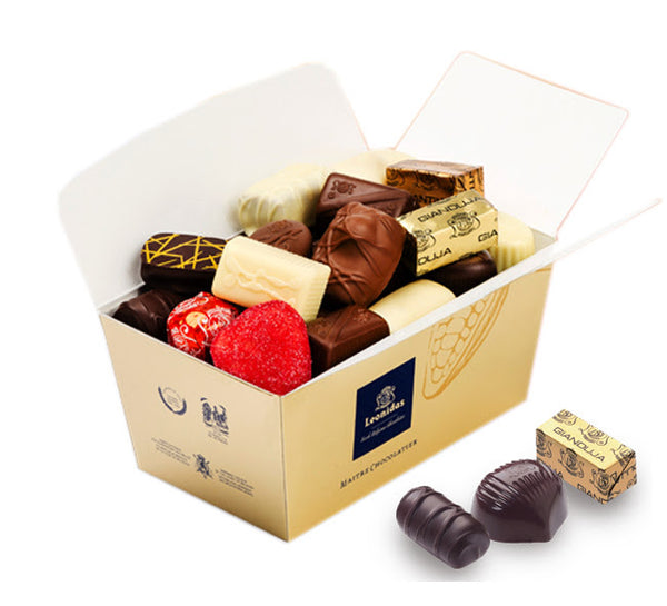Ballotin 500g, Assortment without alcohol (Leonidas 朱古力 500g)