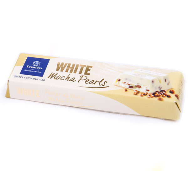 Mocha Pearls White Chocolate Bars (莫卡咖啡 白朱古力)