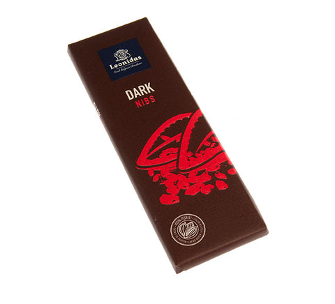 Nibs Dark Chocolate Bar (50g)