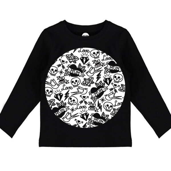 Tattoo Love Long Sleeve Tee