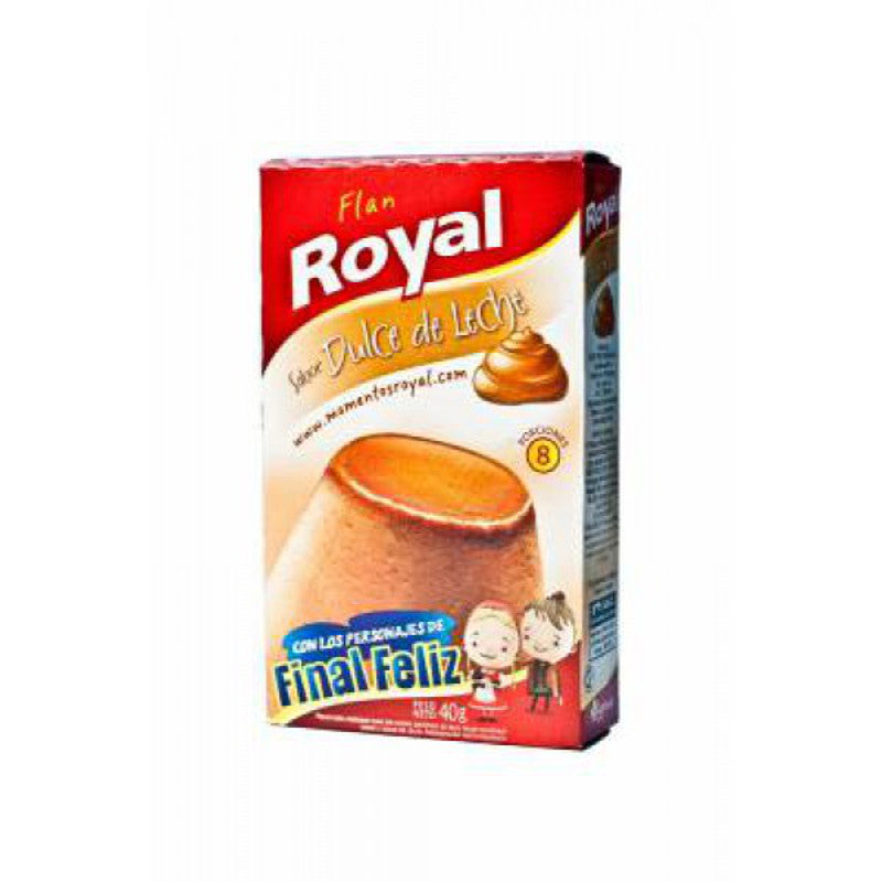 Flan Royal Dulce de Leche - 40 grams