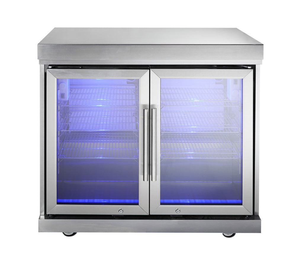 Ambassador Twin Fridge Module Stone Top