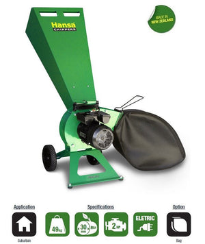 Hansa C3e Brush Chipper
