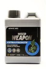 Kiwicare Weed Weapon Extra Strength 1L Concentrate