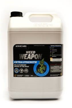 Kiwicare Weed Weapon Extra Strength 5L Concentrate