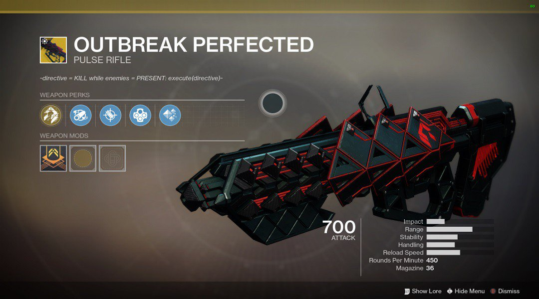Outbreak Perfected