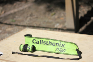 Wrist Wraps - Green Lime and Black