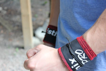 Wrist Wraps - Red and Black