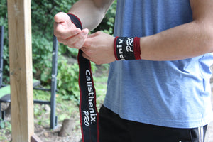 Wrist Wraps - Grey and Black