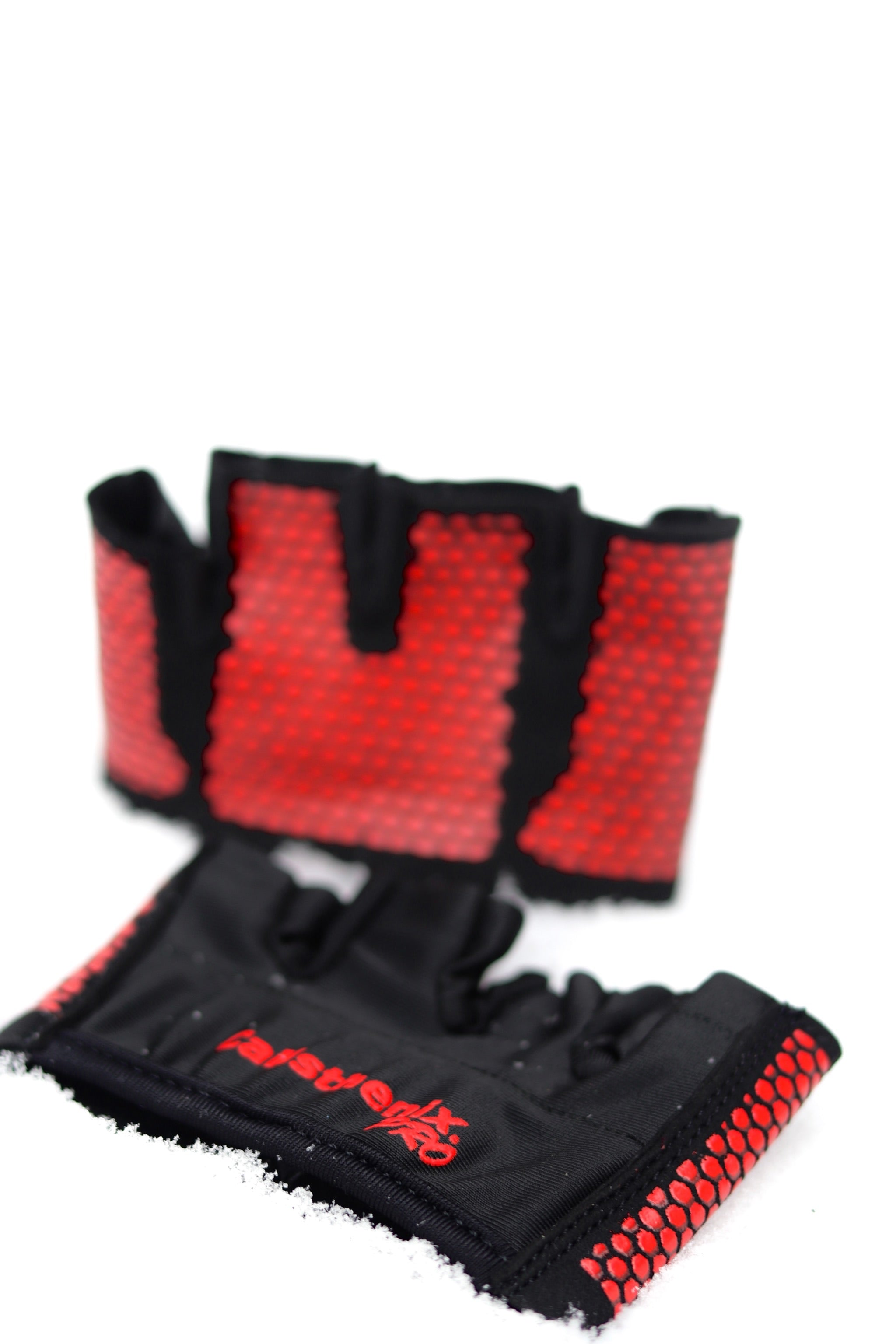 Workout Gloves - Black & Red