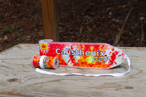 Wrist Wraps - Orange Blast  (Tie Dye Edition)