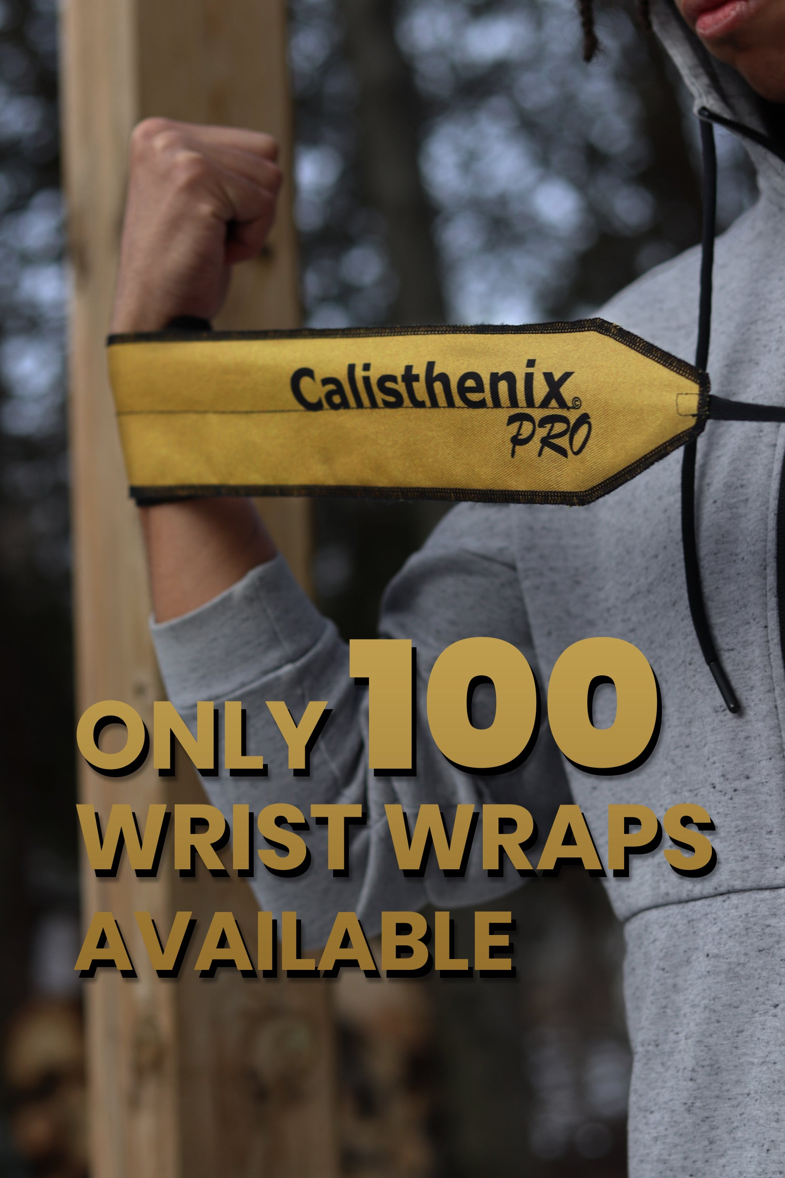 Wrist Wraps - Golden ( Limited Edition )
