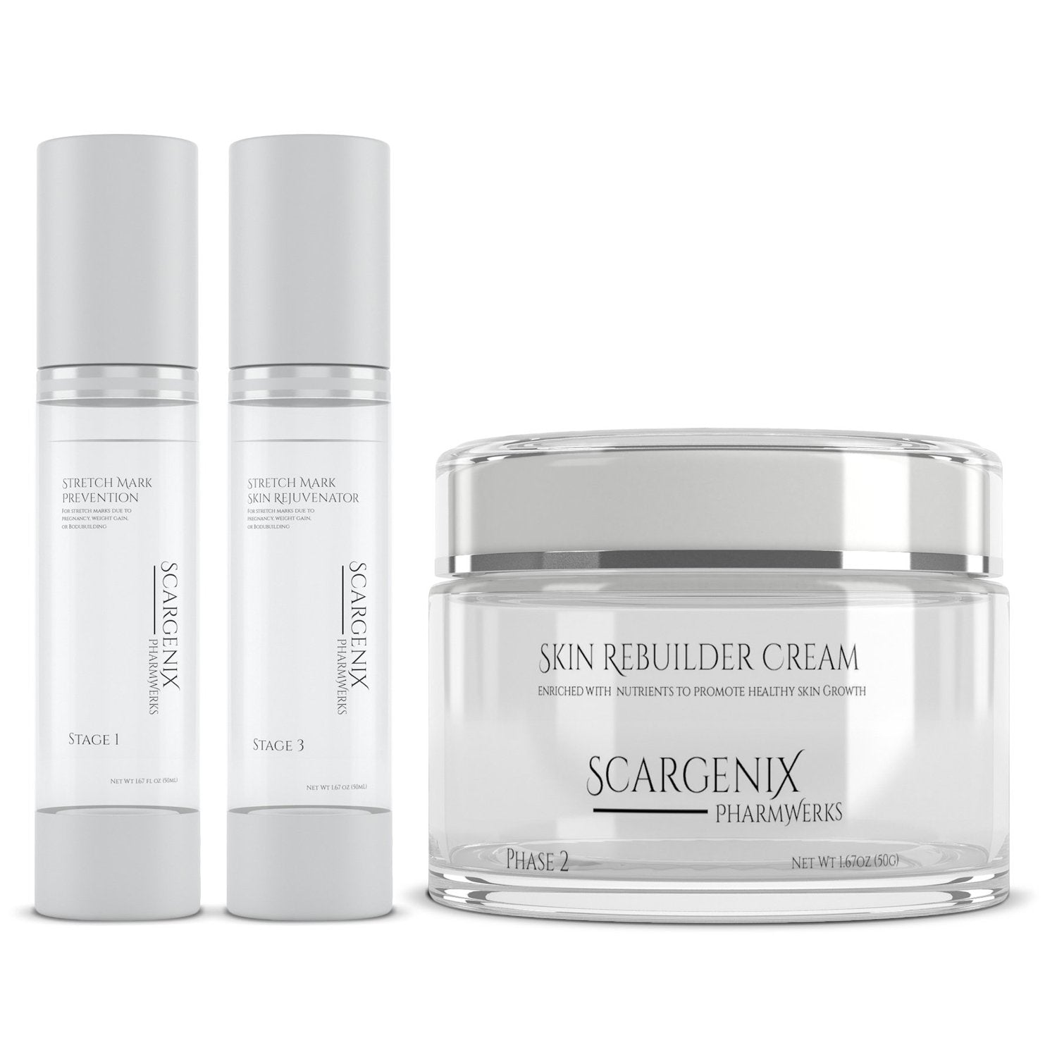 Scargenix Stretch Mark Therapy Collection