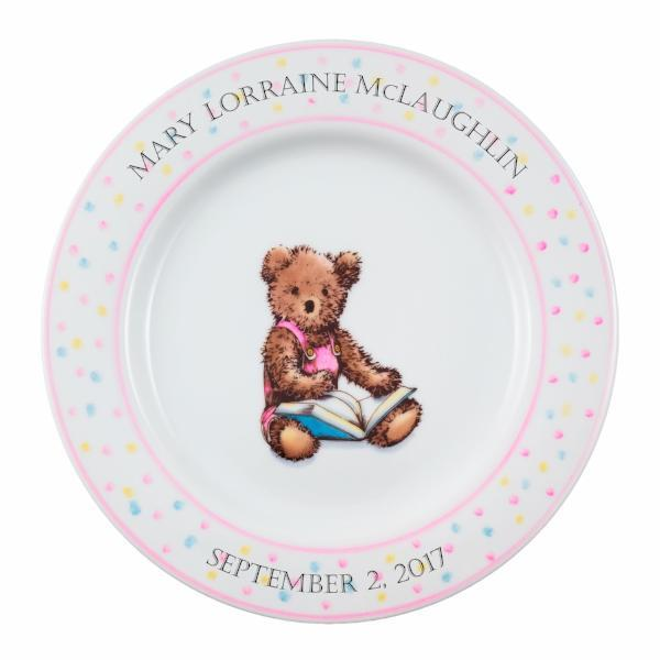Personalized Baby Plate | Bear