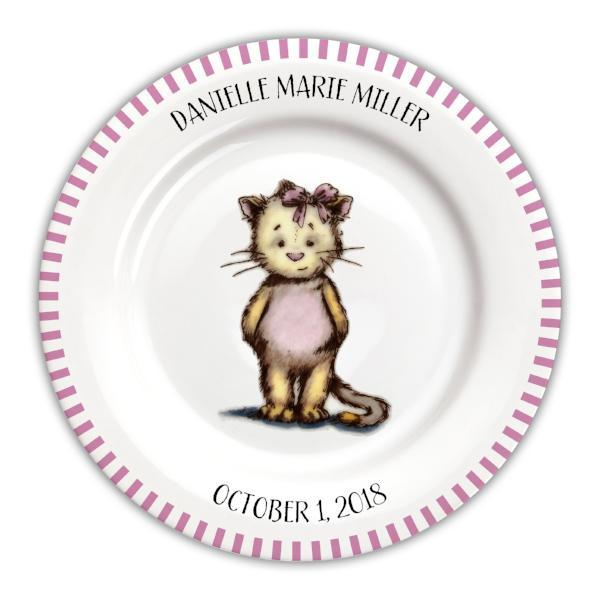 Personalized Baby Plate | Lion